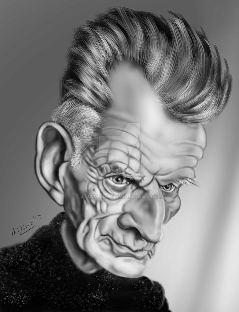 Samuel Beckett by adavis57