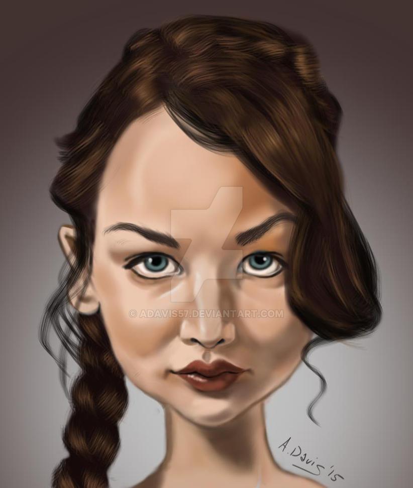 Jennifer Lawrence by adavis57