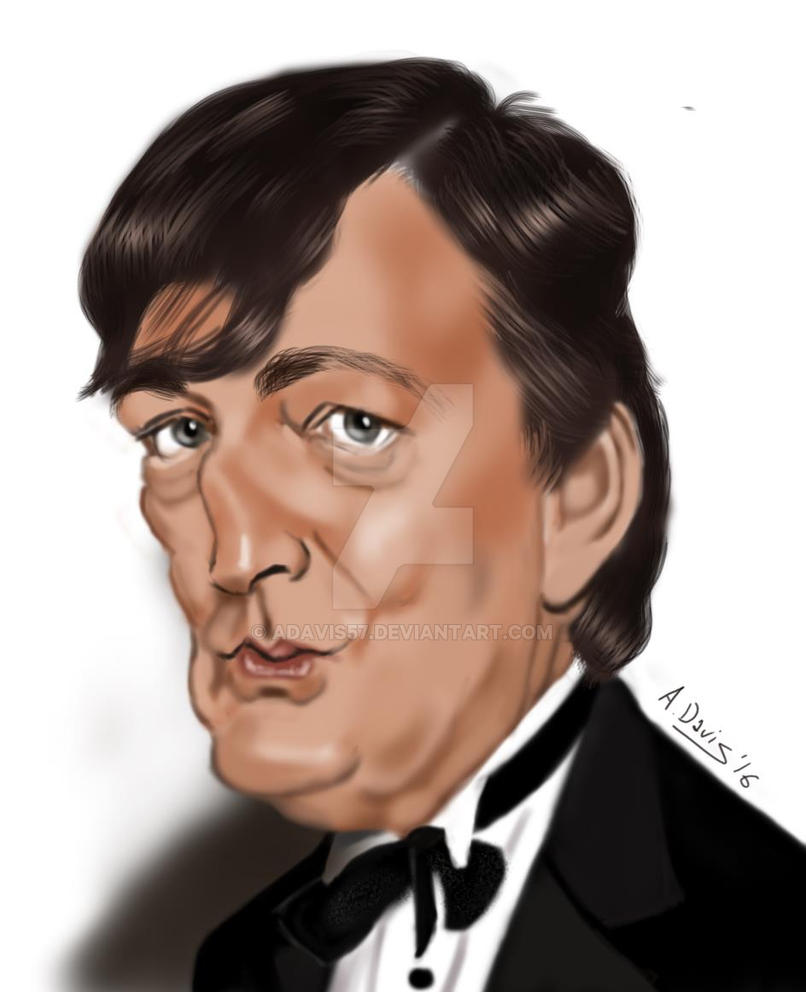 Stephen Fry by adavis57