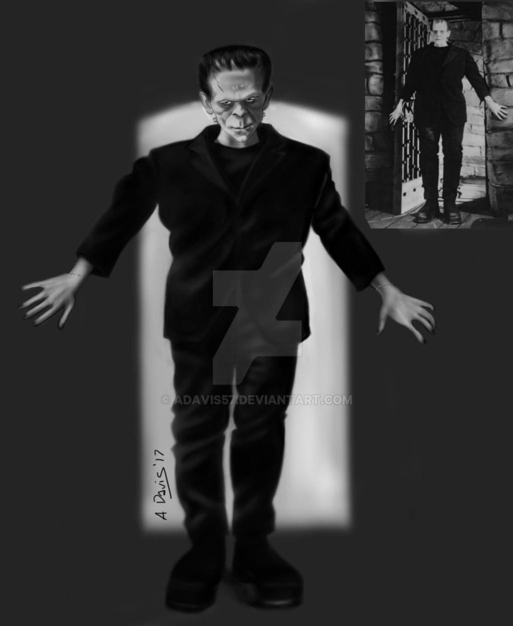 Frankenstein's Monster full body practice by adavis57 on ...
