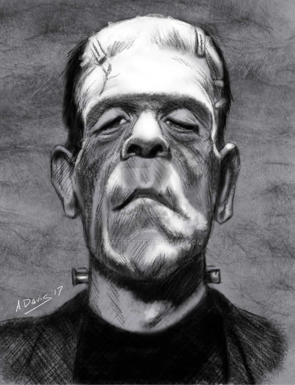 Karloff as Frankenstein's Monster by adavis57