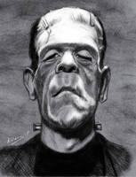 Karloff as Frankenstein's Monster