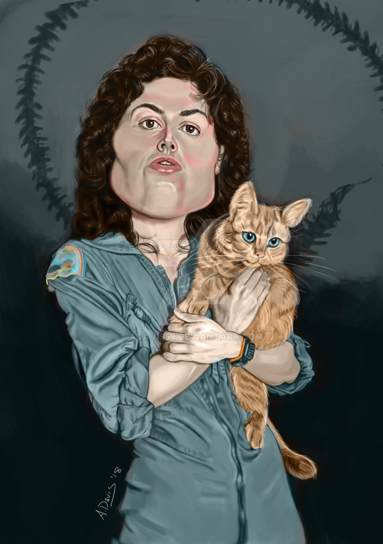 Ripley and Jonesy by adavis57