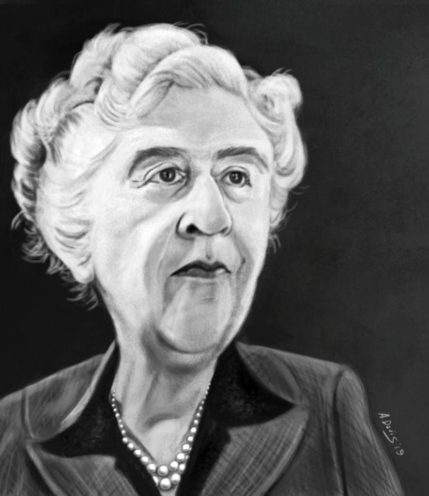 Agatha Christie by adavis57