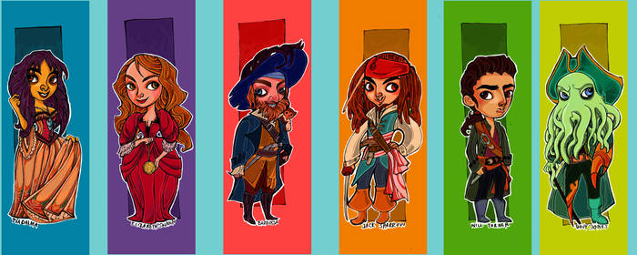 Pirates of the Caribbean Characters