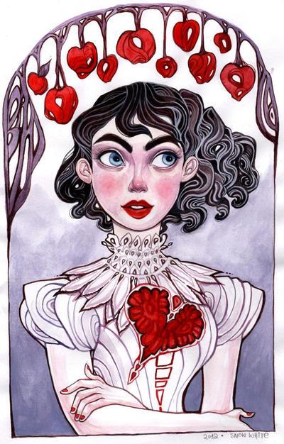 Snow White by rynarts