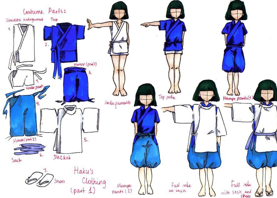 Haku S Costume By Rynarts On Deviantart