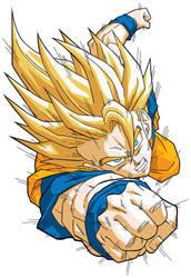 Goku Super Saiyan by DanielGoettig