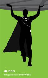 Superman iPOD by DanielGoettig