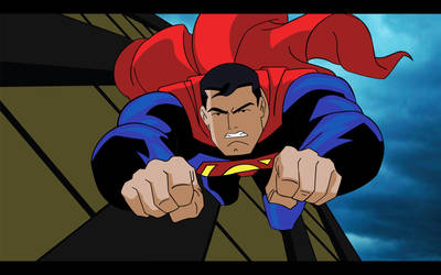 Superman Animated by DanielGoettig