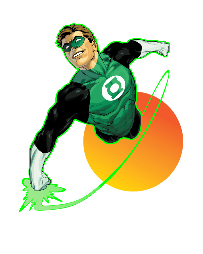 Green Lantern by DanielGoettig