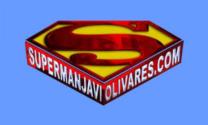Logo SupermanJaviOlivares.com by DanielGoettig