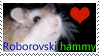 Roborovski hamster stamp by Wildeye