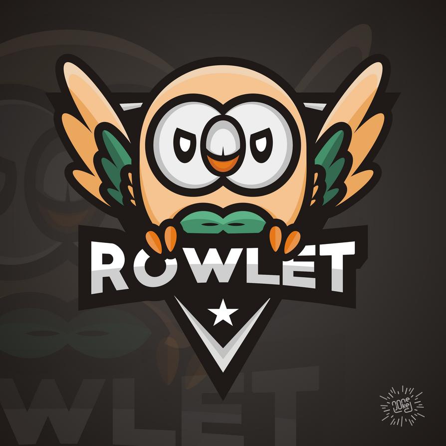 Rowlet Esport By Tansend On Deviantart
