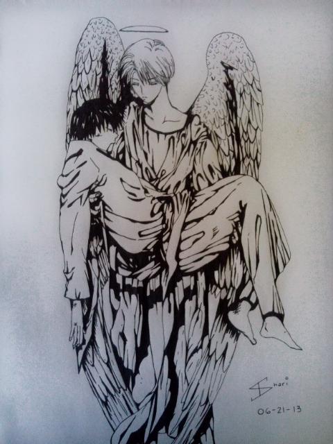 Guardian Angel by LAWLIETloveSHARI
