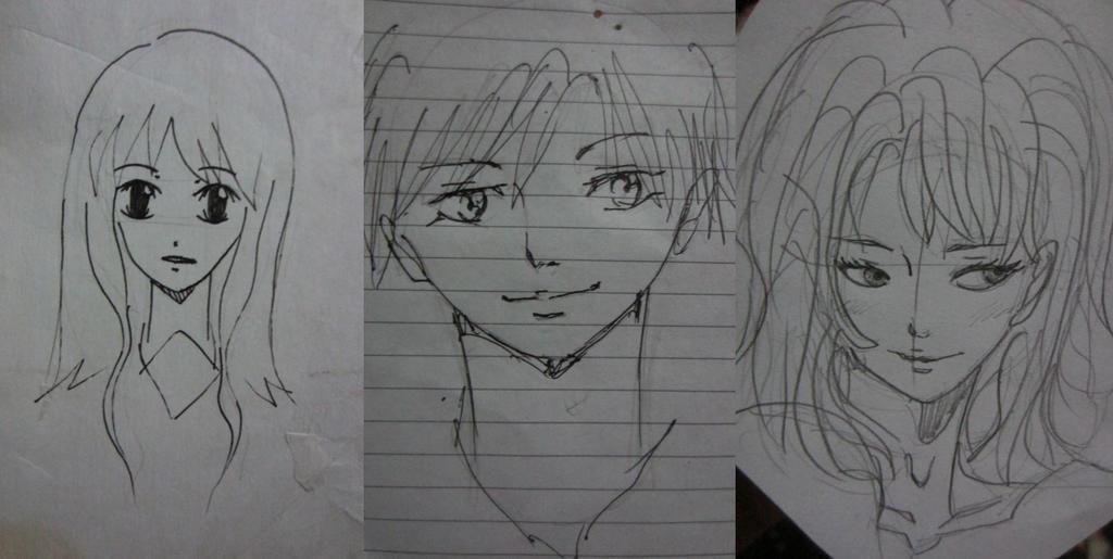 Drawing Evolution by LAWLIETloveSHARI