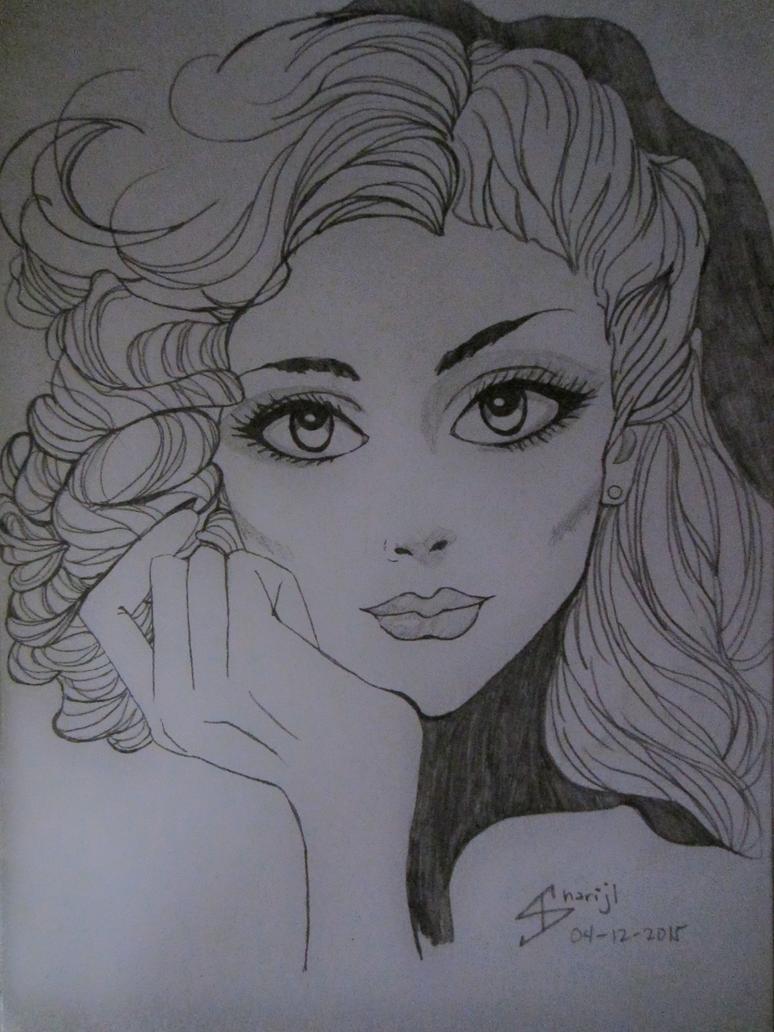 Portrait of a Girl by LAWLIETloveSHARI