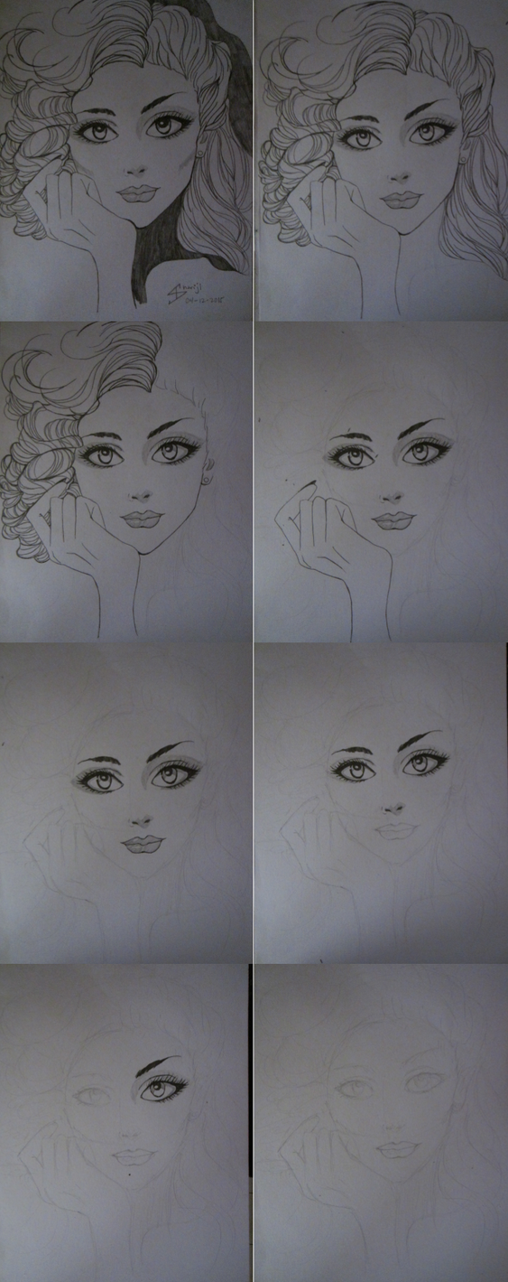 How I Draw: step by step by LAWLIETloveSHARI