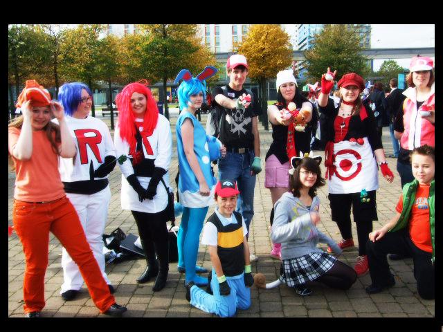Pokemon Group London Expo by Zouai