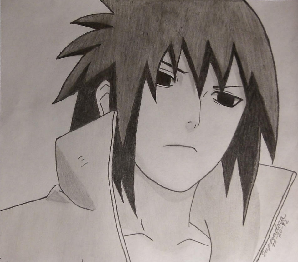 Sasuke Uchiha by Euphadora