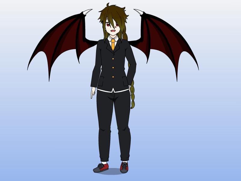 Vampire Form by starryfan