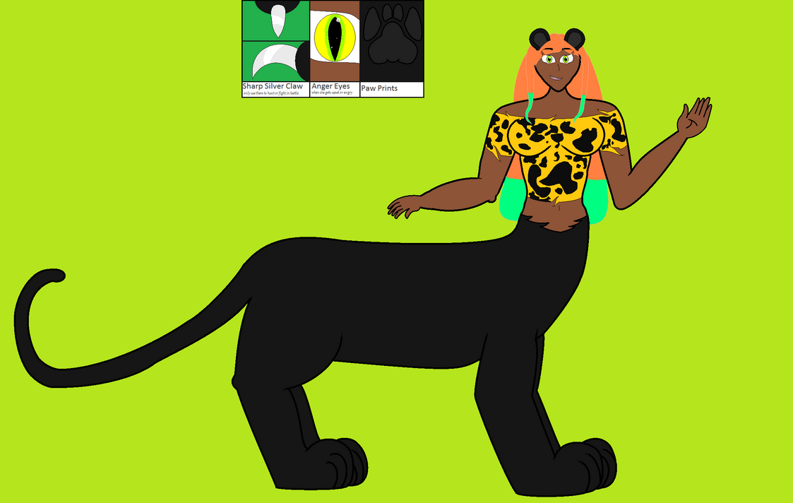 Belinda Breanna The Taur Panther Girl by starryfan