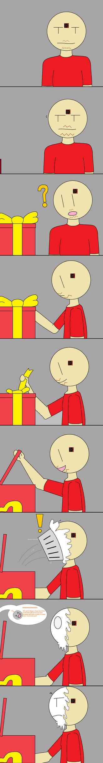 Happy Birthday Hugo X3 XD (Funny Comic Gift) by starryfan
