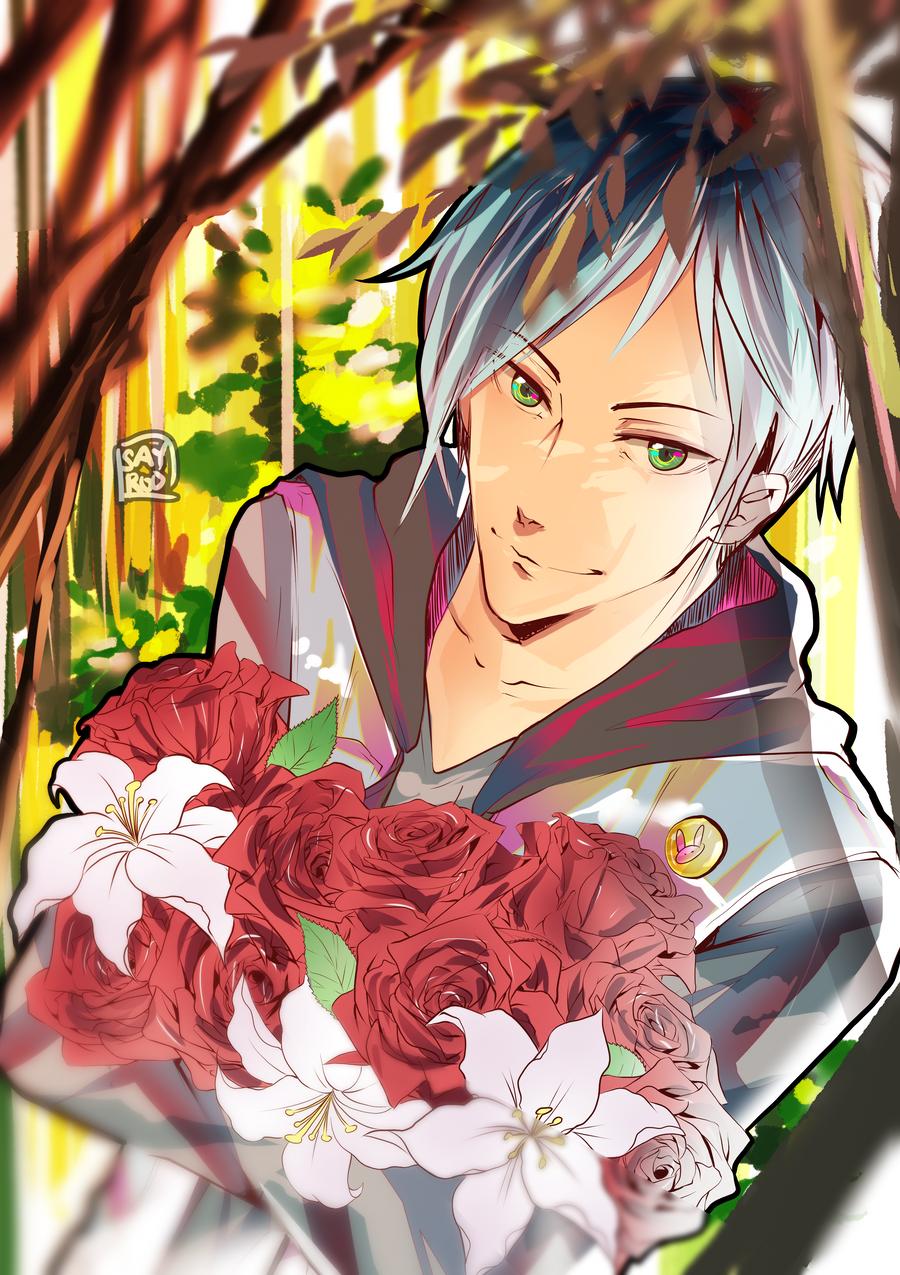 mh heres  flowers  sayroo  deviantart