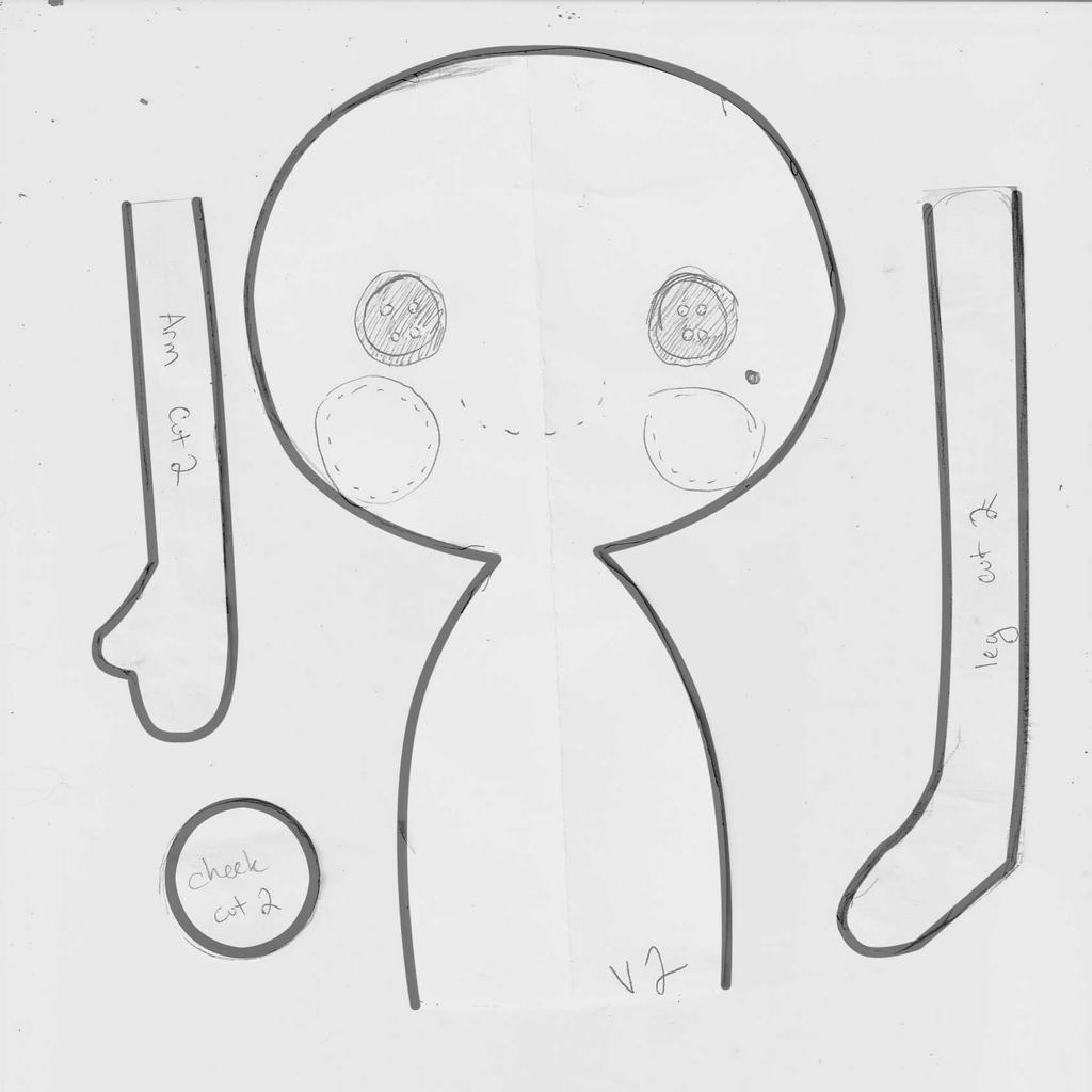 Lalaloopsy style rag doll pattern by HarleyQuinne on DeviantArt