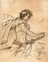 _SketchGame:Warrior'sPride_ by SerLuxfero