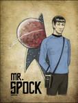 _StarTrek:MrSpock_ by SerLuxfero