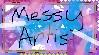 Messy Artist [Stamp] by Shleet338