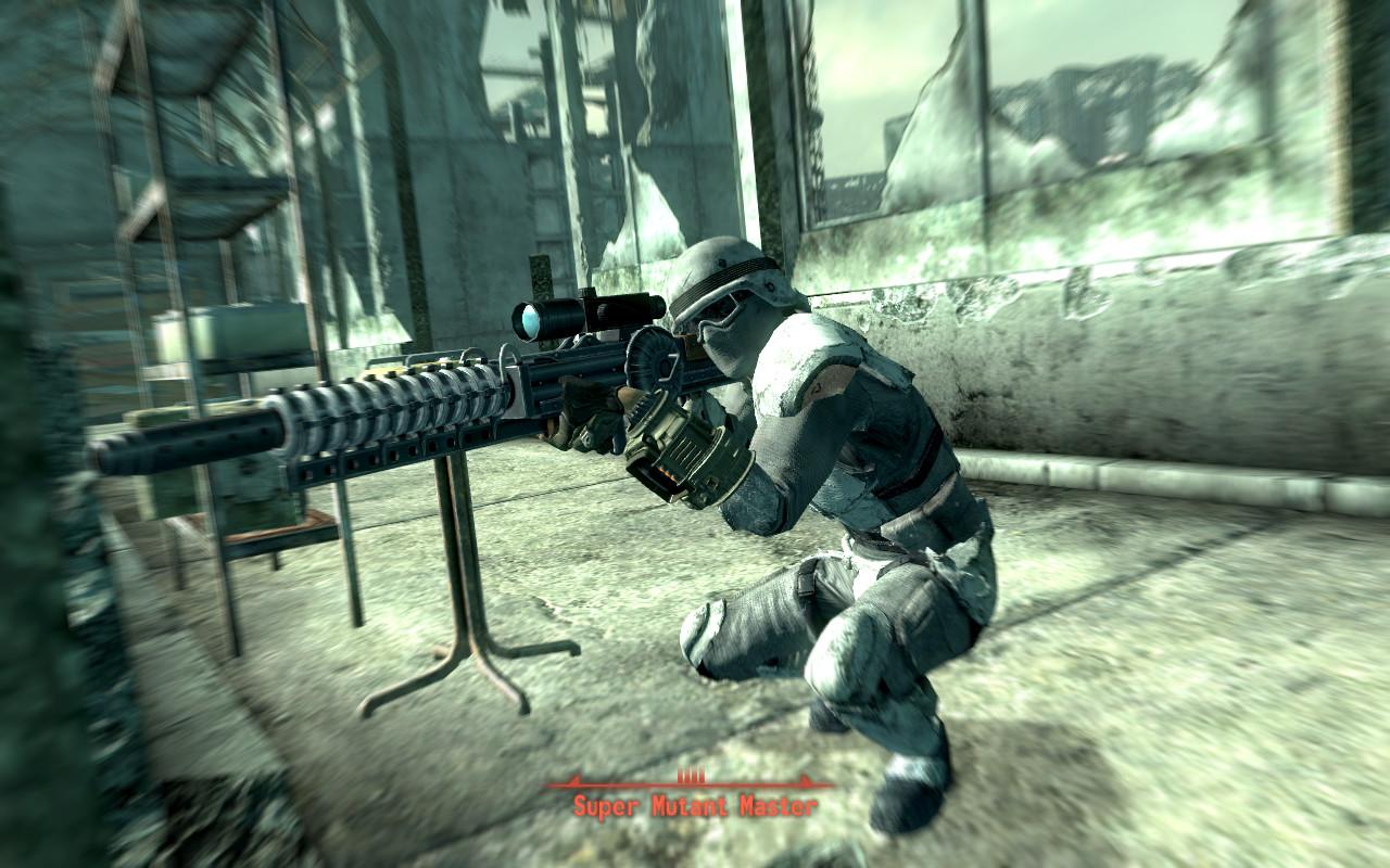 Fallout 3 Character, Gauss Gun by Davis--237834 on DeviantArt
