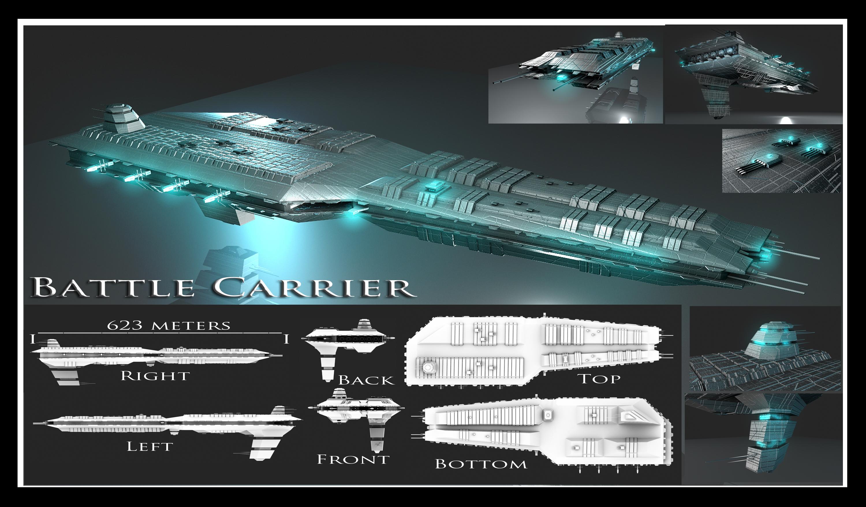 Battle Carrier by Davis--237834