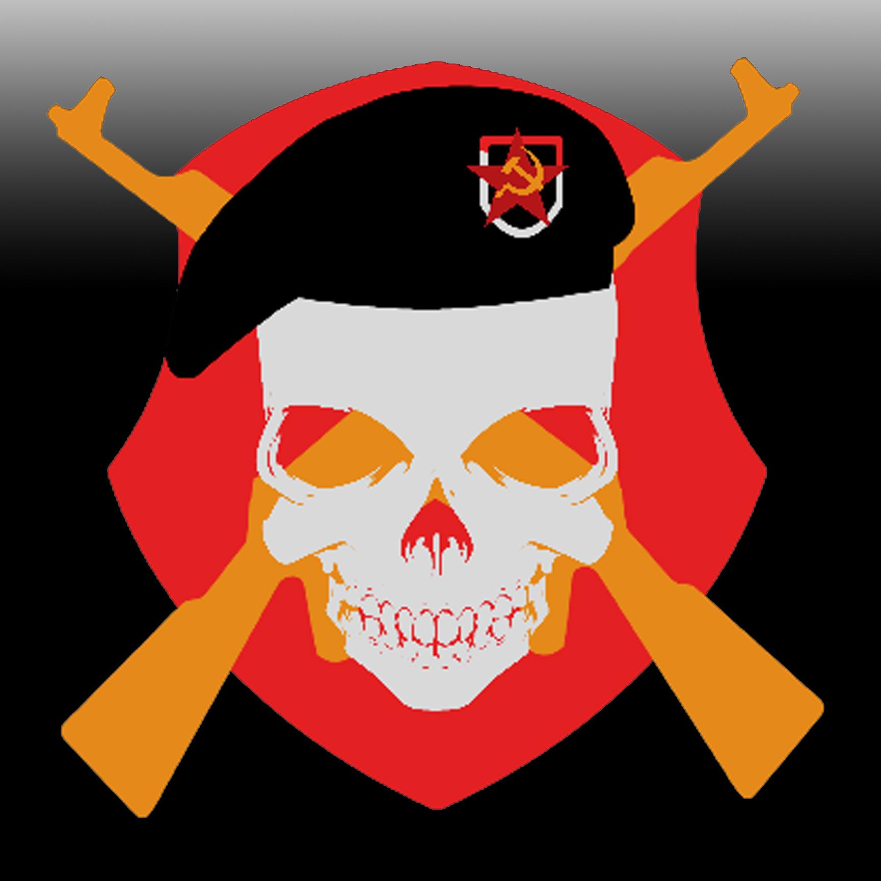 GRU Skull Emblem By Davis 237834