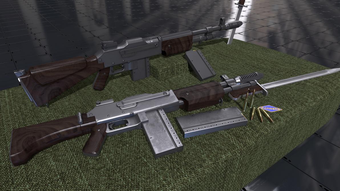 colt monitor machine rifle