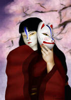 .Kitsune Mask. by PunVisual