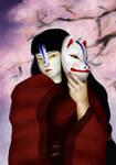 .Kitsune Mask.