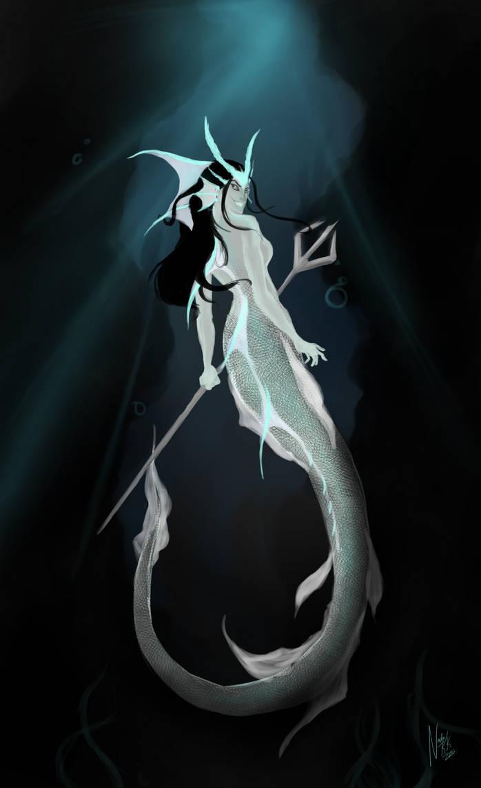 I like evil mermaids
