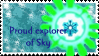 Explorer of Sky stamp by KisaeNokira