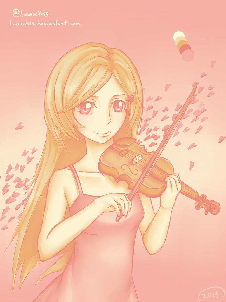 Pink Kaori by laurockss