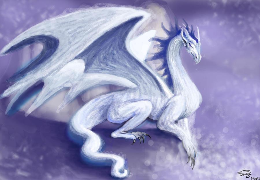 fantasy ice dragons