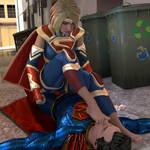 SuperGirl vs Superman