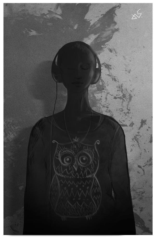 Self portrait by bustavshica