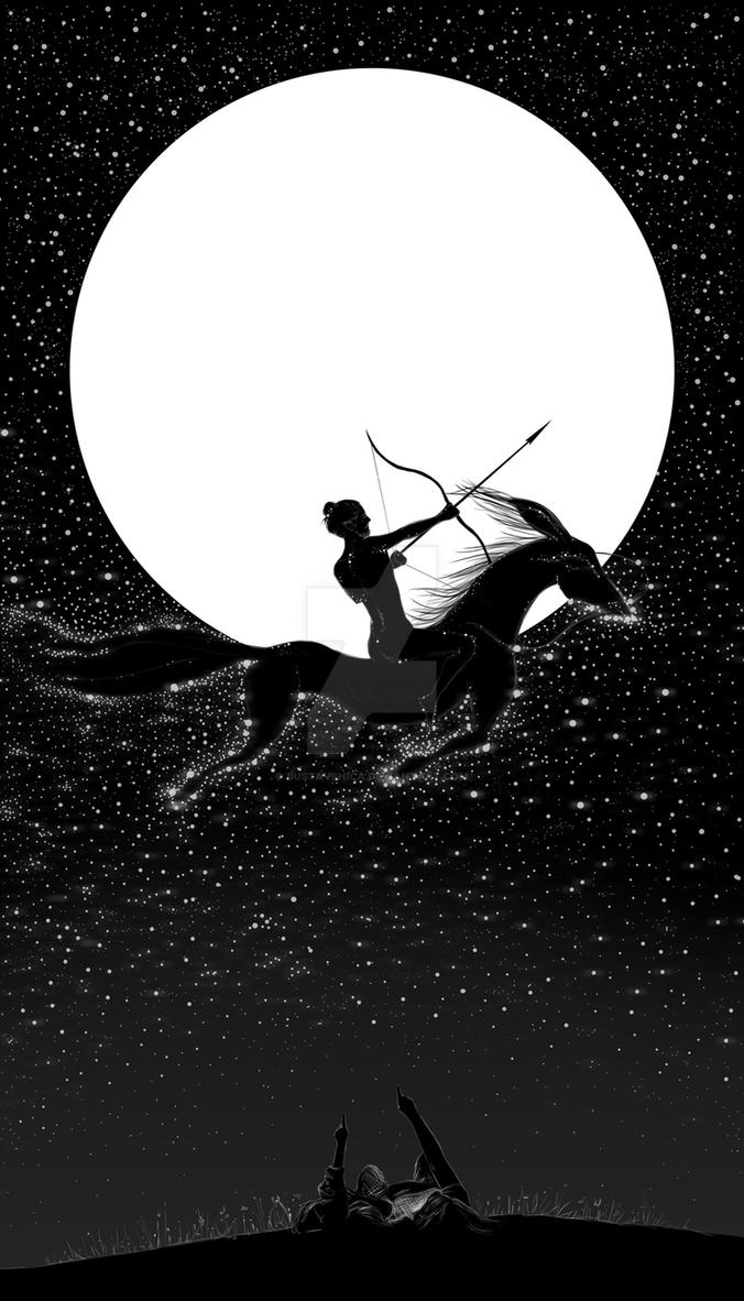 full moon in hippodrome's dream by bustavshica