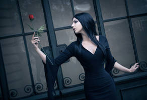 Morticia by adenry