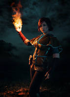 Triss Merigold by adenry