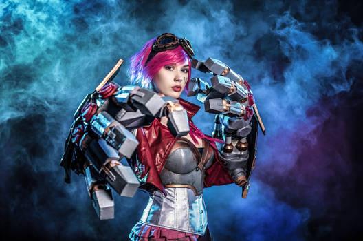 Cosplay Gamescon 2019 12 Vi - League of Legends AS