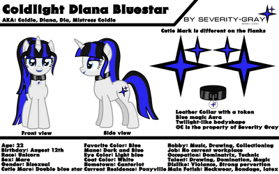 Coldlight Bluestar Reference Sheet by Severity-Gray