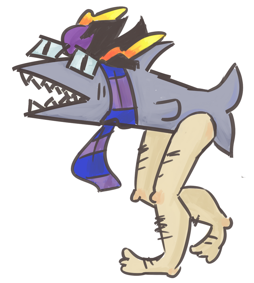 Nepeta And Eridan eridan the shark with ...
